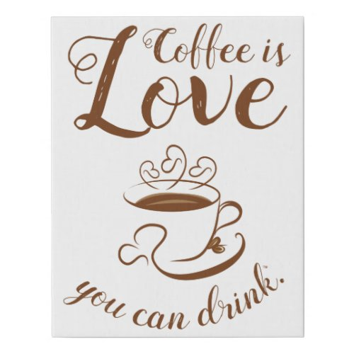 Home Cooking Coffee Canvas Art
