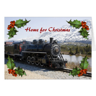 Christmas Train Cards Zazzle