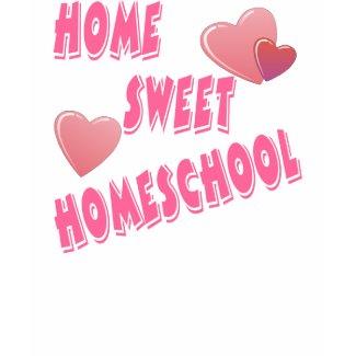 Home Sweet Homeschool shirt