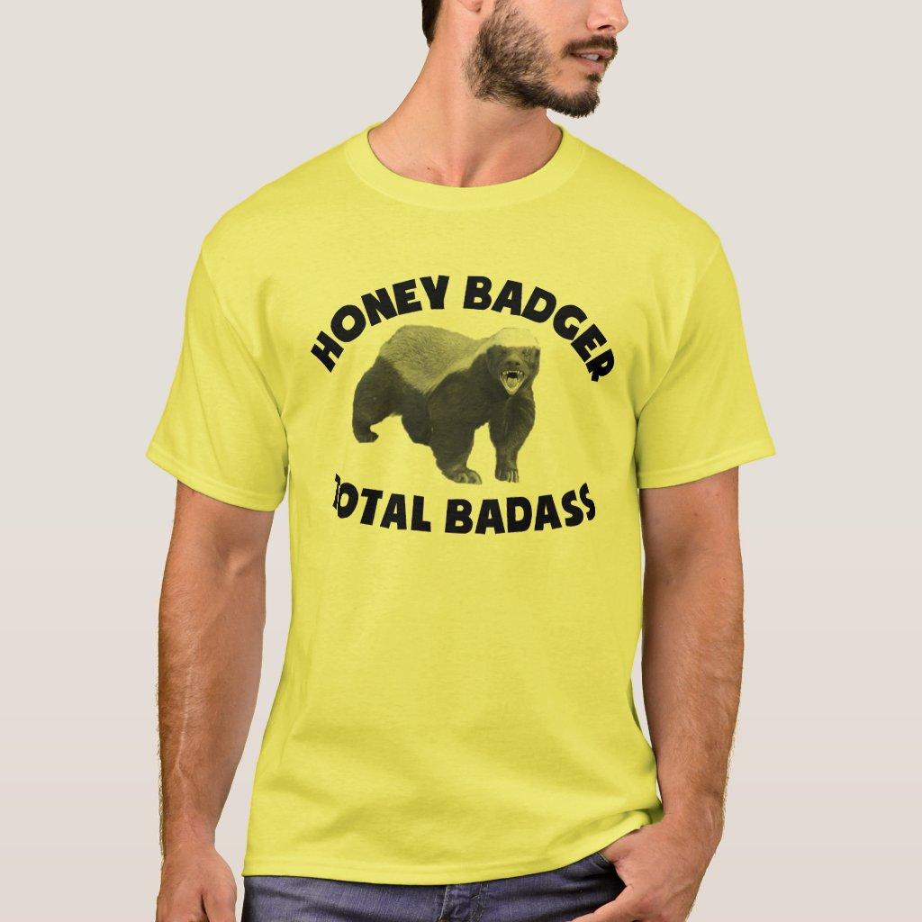 Honey Badger Total Badass T-Shirt