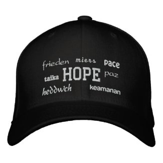 Hope - Embroidered Hat