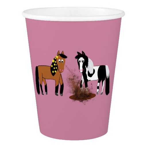 Horse Birthday Party Cup