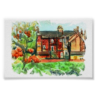 Hot Autumn Day in Wales print