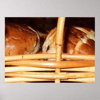 Hot Cross Buns Basket #2