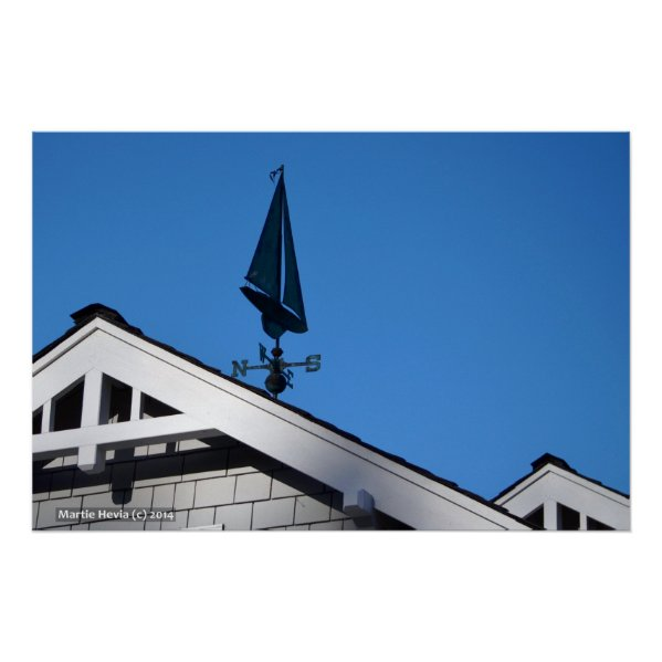 House Sailboat Vane II