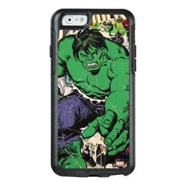 Hulk Retro Comic Graphic OtterBox iPhone 6/6s Case