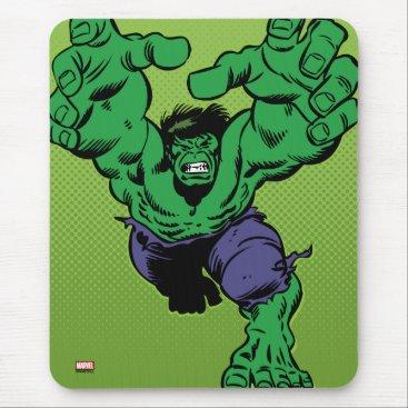 Hulk Retro Grab Mouse Pad