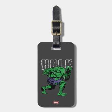 Hulk Retro Lift Bag Tag