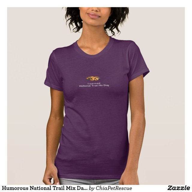 Humorous National Trail Mix Day Dark T-Shirt