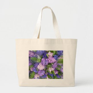 Hyacinths Tote Bag bag