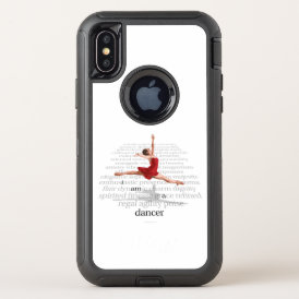 I Am A Dancer OtterBox Defender iPhone X Case