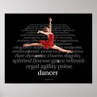 I Am A Dancer Print