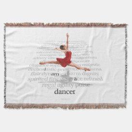 I Am A Dancer Throw