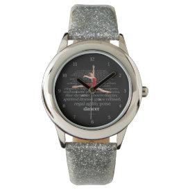I Am A Dancer Wristwatch