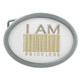 I Am Priceless - Belt Buckle