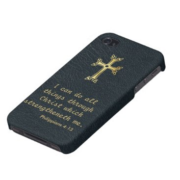 I can do all things through Christ iPhone 4/4S Cover