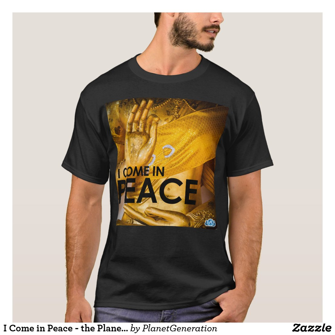 I Come in Peace - the Planet Generation T-shirt