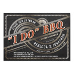 I Do BBQ Invitations - Couples Shower