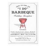 ❤️ Simple Casual Grill I Do BBQ Invitation