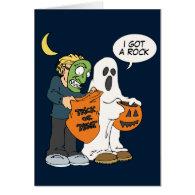 I Got a Rock Halloween card
