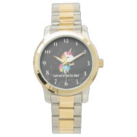I got out of bed for this? Snarkles the Unicorn Wrist Watch