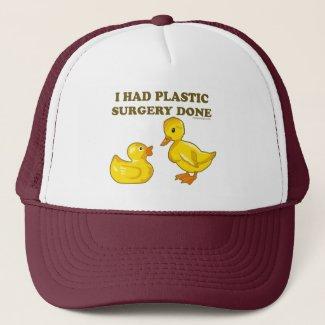 I Had Plastic Surgery Done Trucker Hat