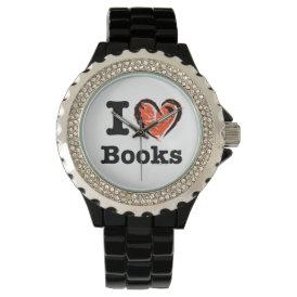 I Heart Books! I Love Books! (Crayon Heart) Watch
