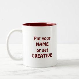 I Heart Books! I Love Books! (Trail of Hearts) Two-Tone Coffee Mug