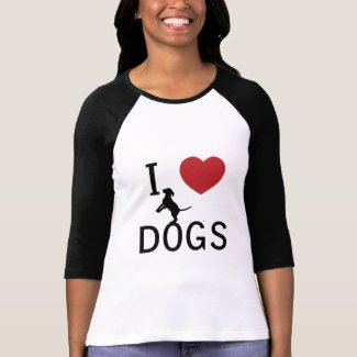i heart dogs shirt