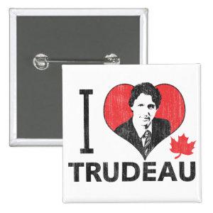 I Heart Trudeau 2 Inch Square Button