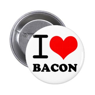 I love bacon pins