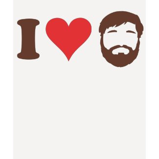 I Love Beards Shirt shirt
