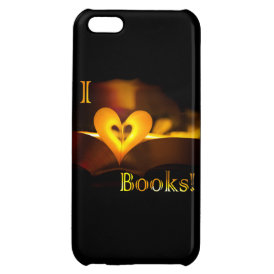 I Love Books - I 'Heart' Books (Candlelight) iPhone 5C Case