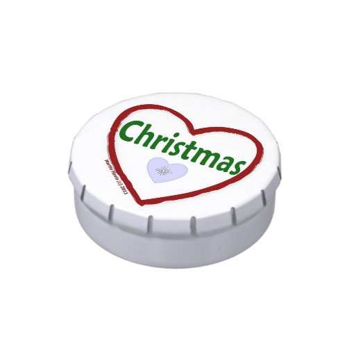 I Love Christmas - Candy Tin
