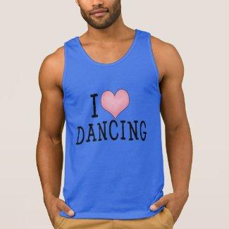 I Love Dancing Tshirt
