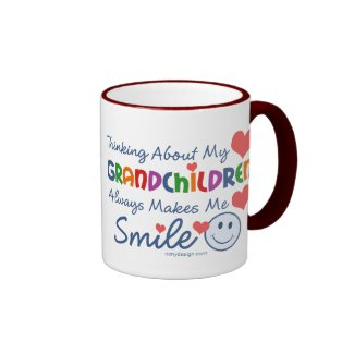 I Love My Grandchildren Coffee Mugs