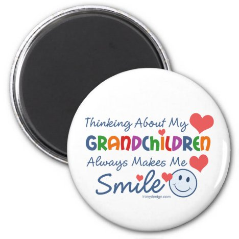 I Love My Grandchildren Magnet