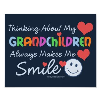I Love My Grandchildren Posters