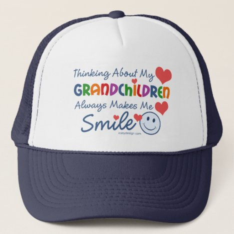 I Love My Grandchildren Trucker Hat