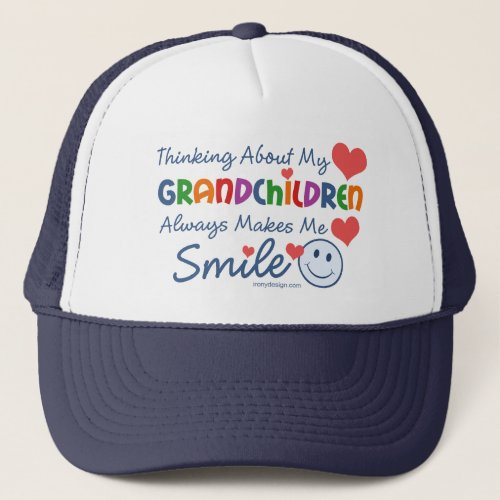 I Love My Grandchildren Trucker Hat