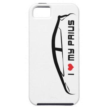 I Love My Prius iPhone SE/5/5s Case