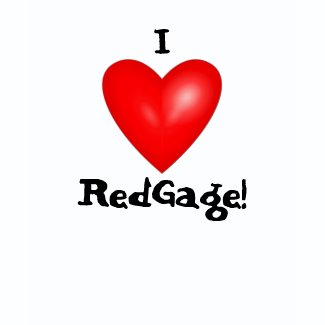 I Love RedGage shirt