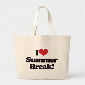 I Love Summer Break! bag