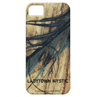 I-Phone 5/5S Case, Blue jay feather