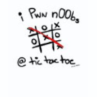 Tic Tac Toe Geeks T-Shirts & Gifts - Pwn Noobs