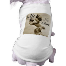 Idle No More Dancing Eagle pet tee