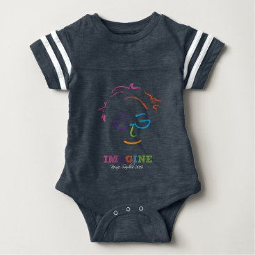 Imagine Bernie Sanders 2016 Baby Bodysuit