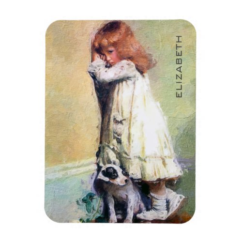 In Disgrace Vintage Oil Painting Personalized Magnet