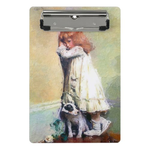 In Disgrace Vintage Oil Painting Personalized Mini Clipboard