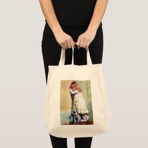 In Disgrace Vintage Oil Painting Personalized Tote Bag